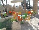 terraza de un café restaurante Yerba