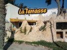 Die Terrasse des Restaurants Djerba