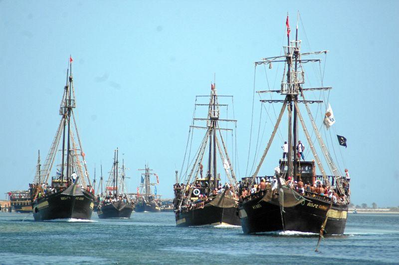 Bateau Pirate  U00e0 Djerba