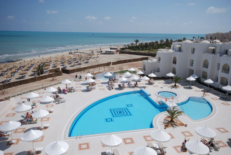 Hotel telemaque beach and spa djerba djerba info maps for Hotels djerba