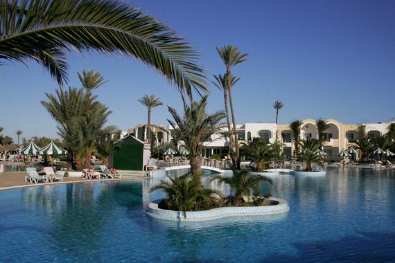 H tel lti djerba holiday beach djerba infos cartes for Hotels djerba